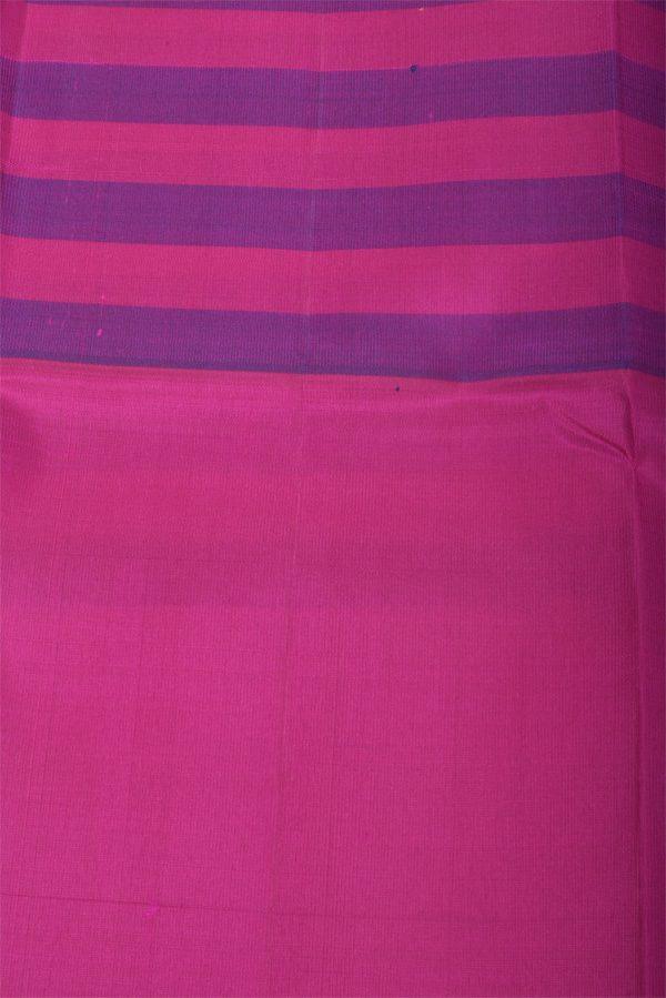 Green purple pink soft silk saree-12972