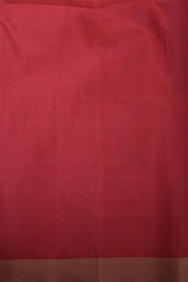 Peach soft silk saree with thread weaving-13012