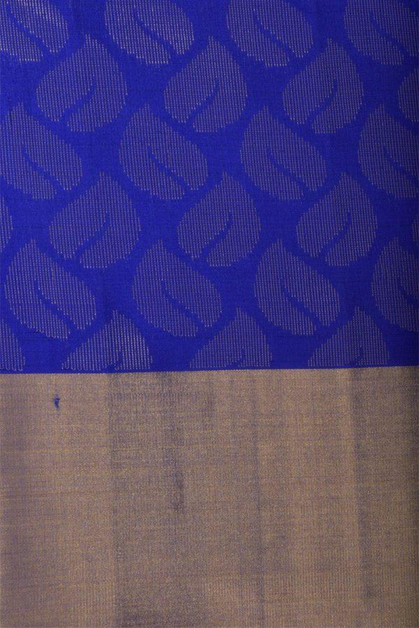 Orange soft silk saree with brocade blouse-13054