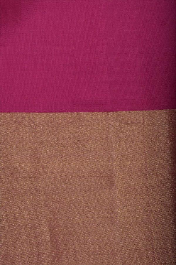 Plain yellow soft silk saree with zari border-12986