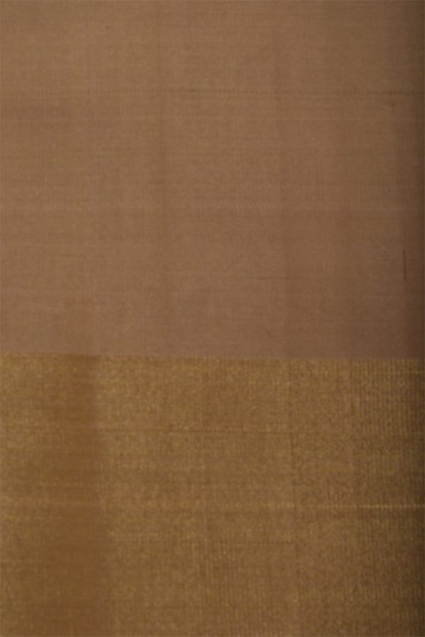 Tomato pink polka dots soft silk saree-13121