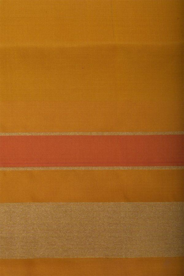 Pinkikat style silk saree with yellow border-13093