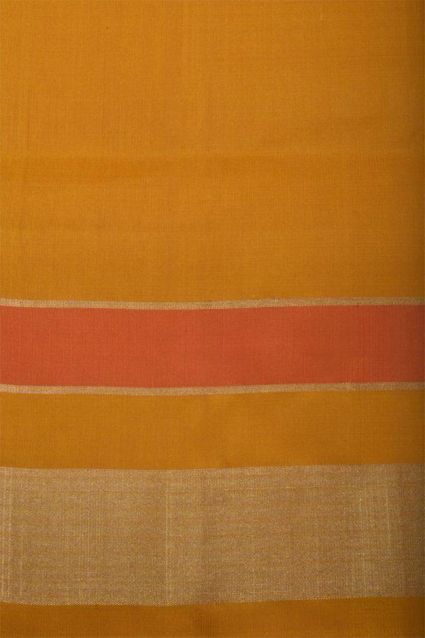 Blue blackikat style silk saree with yellow border-13097