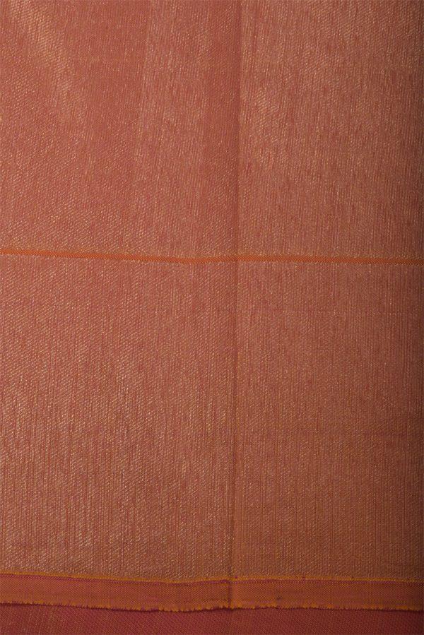 Pink floral zari soft silk saree-13134