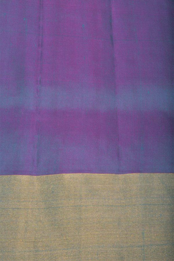 Blue zaribrocade soft silk saree -13170