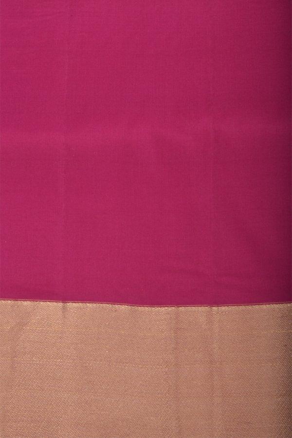 Beigethread temple soft silk saree-13182
