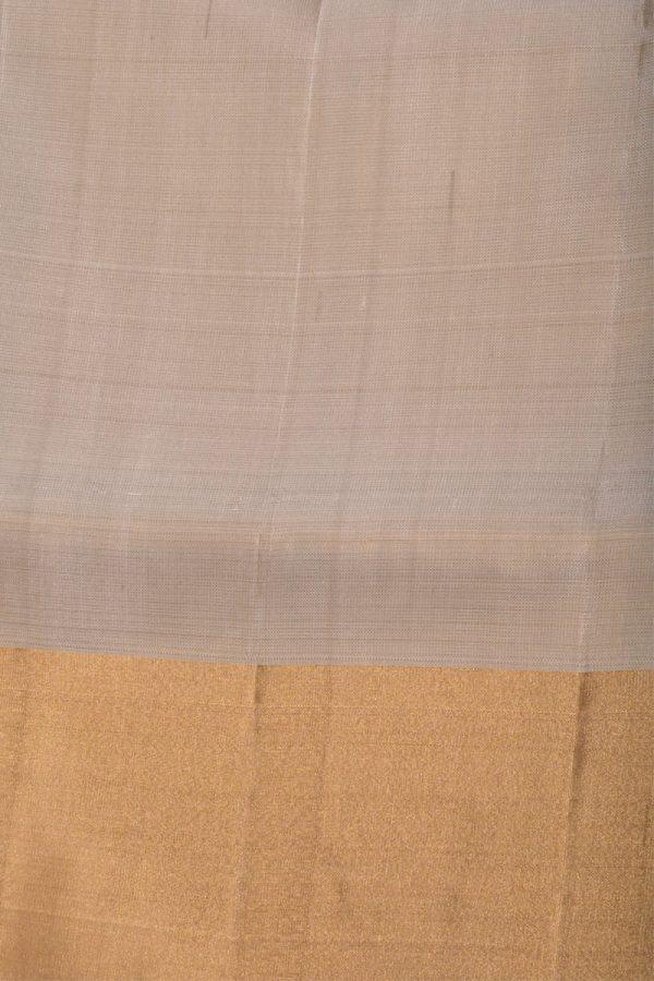 Royal blue beige party pallu silk saree-13216