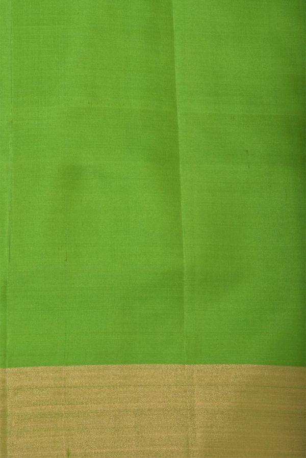 Pink zari checks soft silk saree-13238
