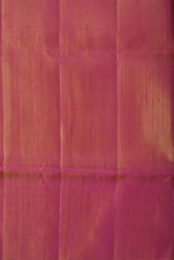 Mustardsilk saree with thread border-13661