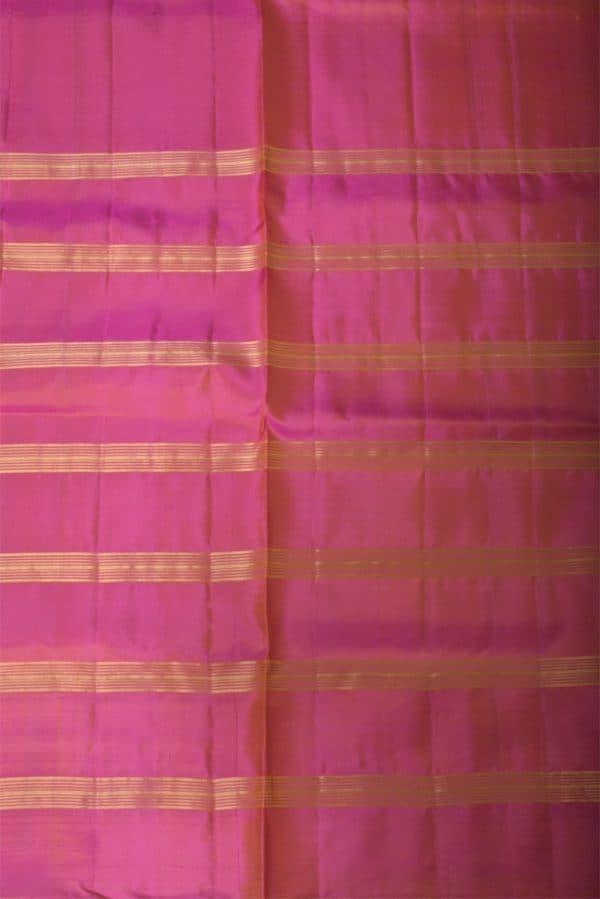 mustard peach half and half silk saree-13677