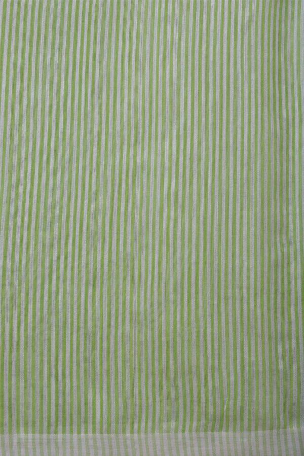 Cream handloom organza saree -14094