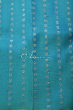 Colourful half and half kanchi silk saree-14699