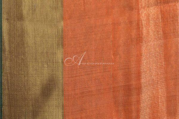 Neon Pink kanchipuram silk saree-14747