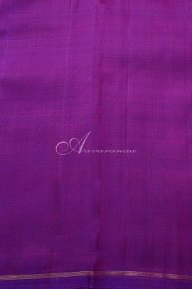 Peach raising style kanchipuram silk saree -14839