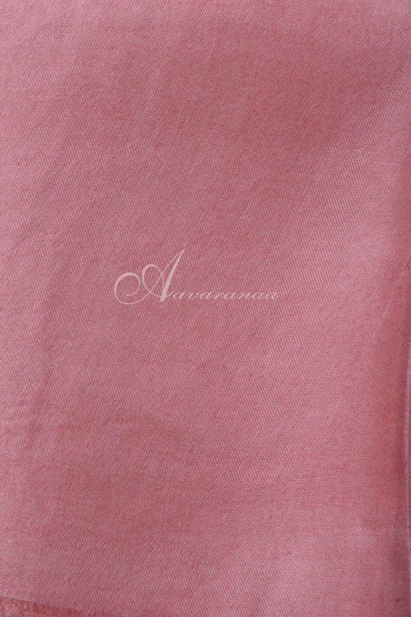 Peach half and half organza saree-15631