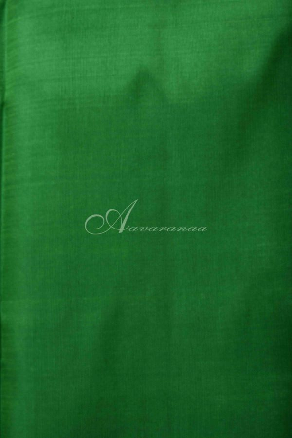 Ms blue and green half and half silk saree-15028