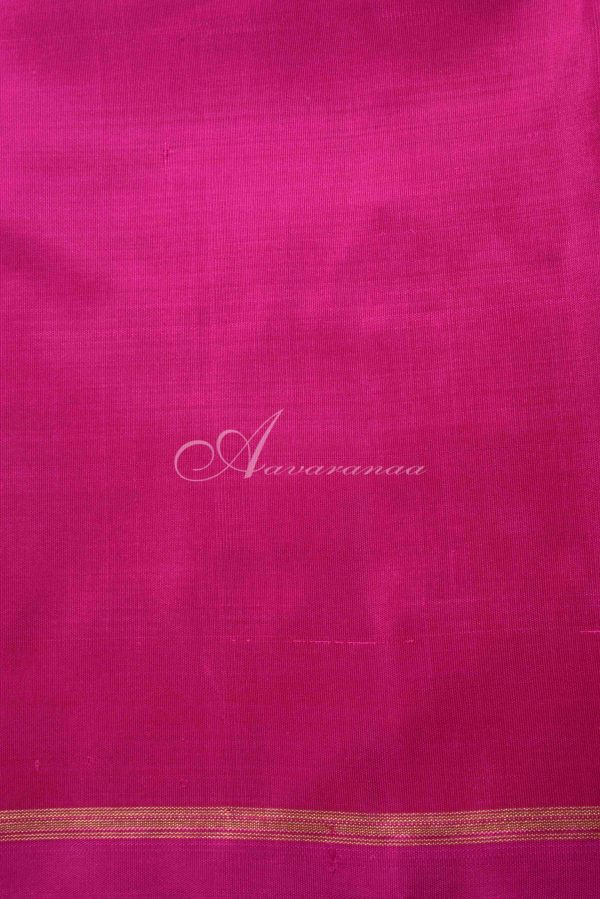 Ms blue and pink kanchipuram silk saree-15337