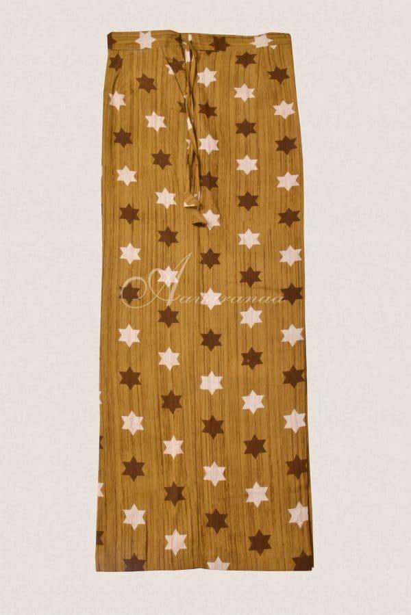 Grey and mustard pant set-16361