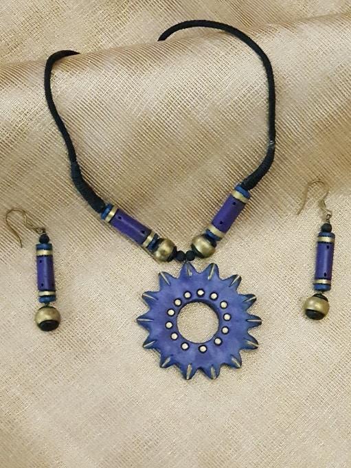 Violet terracotta set-0