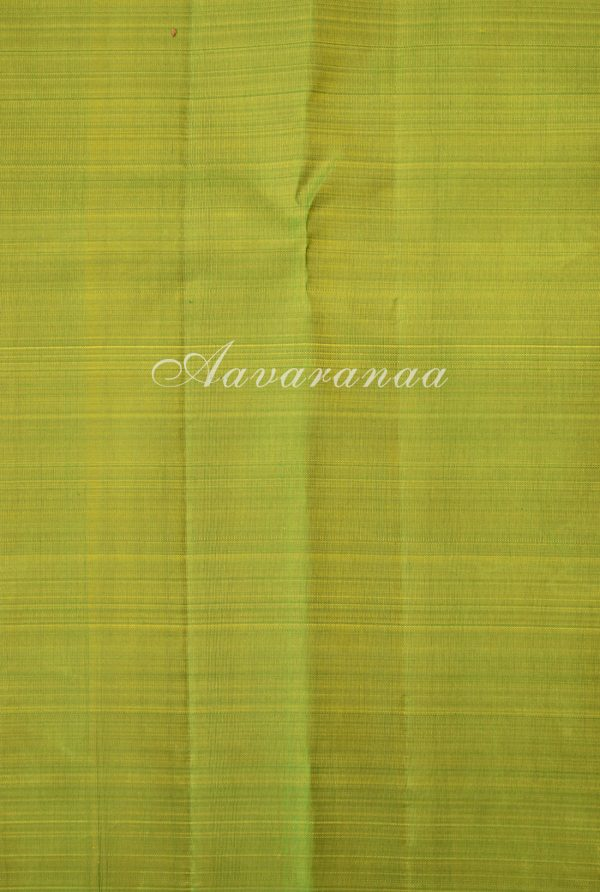 Striped green kancheepuram silk saree-18587