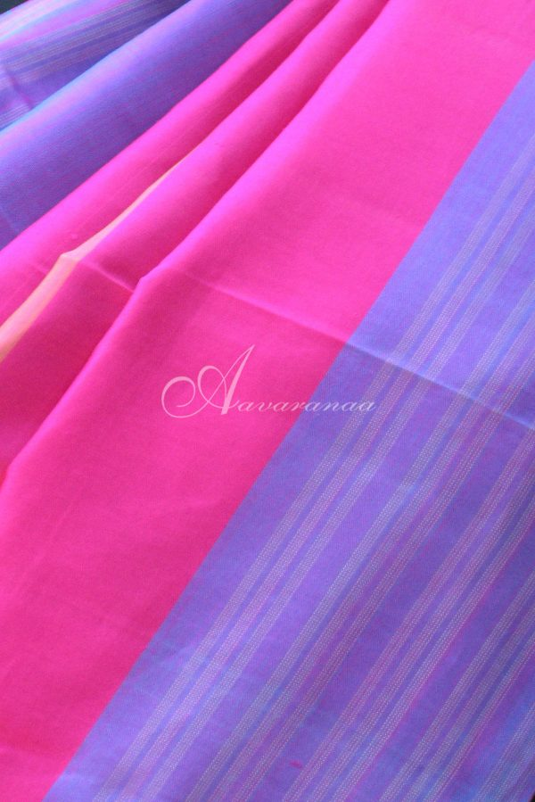 Multi colour panel silk saree-19609