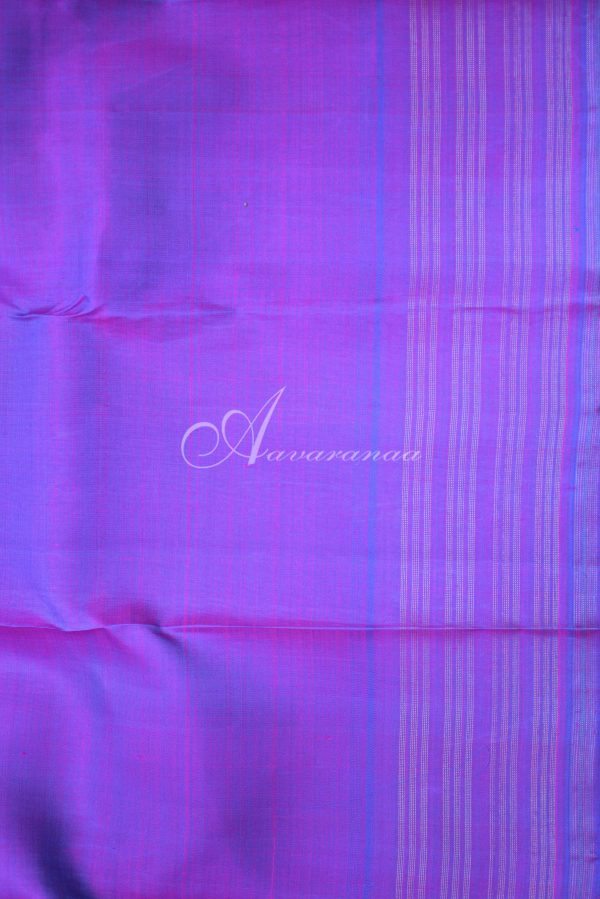Multi colour panel silk saree-19608