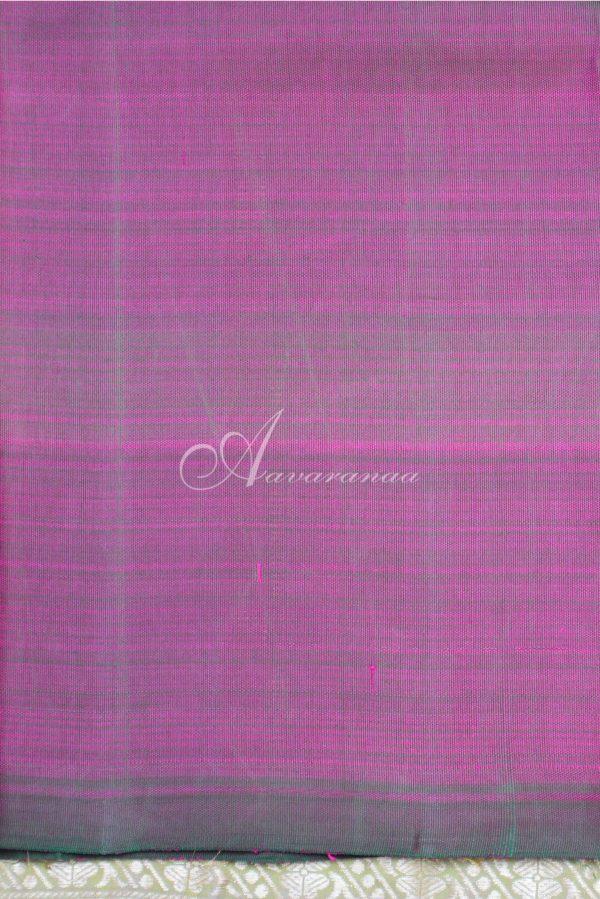 Purple multicolour kanchipuram silk saree-19741