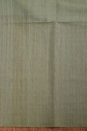 Blush green handloom sequins organza Saree blouse