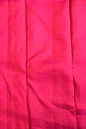 Green and pink checks kanchi silk saree blouse