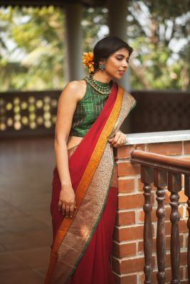 readymade saree blouses