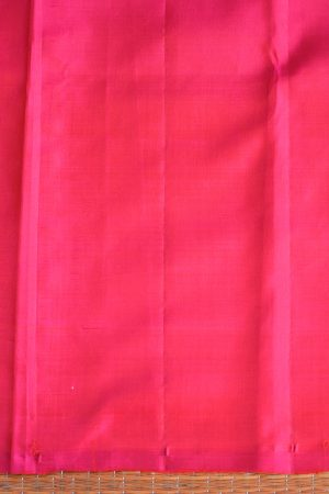 Beige pink partly pallu kanchi silk saree 4