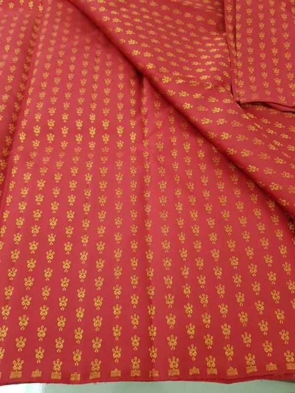 Aracku kammal kanchi silk zari fabric