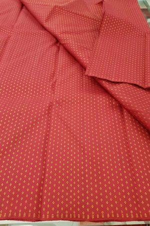 Aracku kuyil kann kanchi silk zari fabric