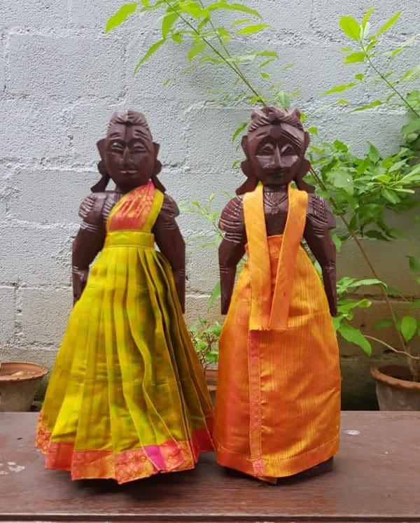 Mustard marappachi dolls