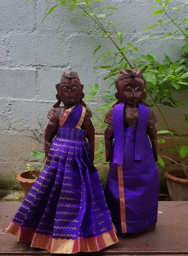 Royal blue marappachi dolls