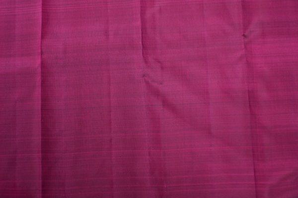 Dusty pink bird design kanchi silk saree 3