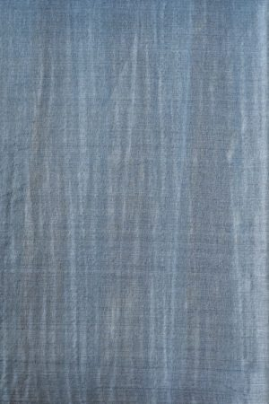 Grey brown stripes plain handwoven tussar saree 2