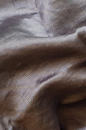 Pale mauve rich soy silk saree 1