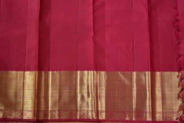 Maroon rich kancheepuram silk saree 2