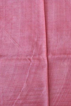 Pink beige floral tussar saree 2