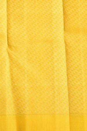 Plain maroon with mustard zari pallu blouse 2