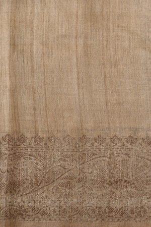 Multihued benarasi tussar saree blouse
