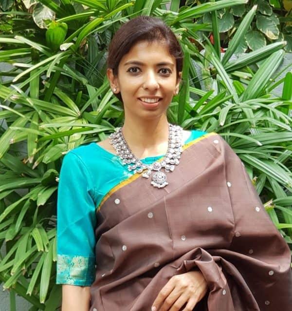 teal pure zari kanchi silk blouse