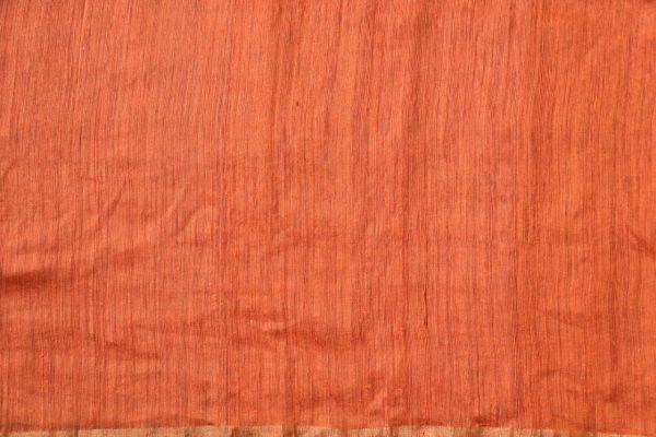 FUschia pink organza jamdani saree 1