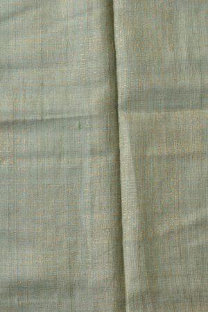 Green blue shibori tussar saree 2