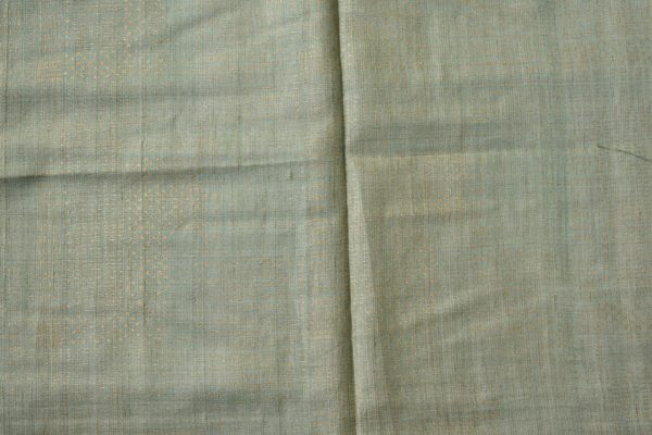 Green blue shibori tussar saree 2