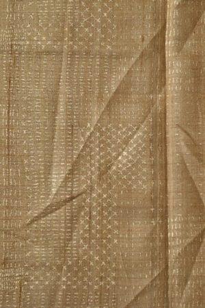 Purple grey shibori tussar saree 2