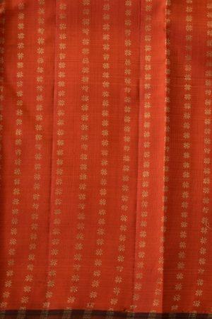 Black vanki design kanchi silk saree blouse