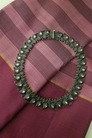 Blue mango necklace