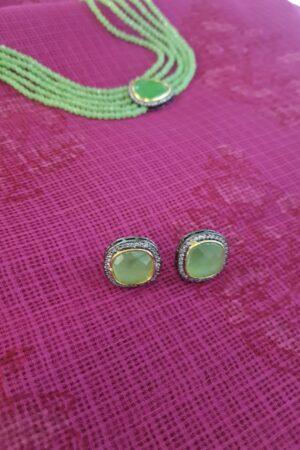 Apple green choker set1